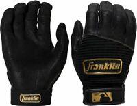 Franklin Sports MLB CFX Pro Classic Baseball Batting Gloves Black/Gold