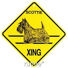 Scottie Dog Crossing Xing Sign New