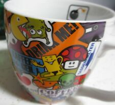 TATTOO coffee mug PAC MAN bomb Hang Loose Eight Ball cat bear strawberry skull