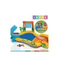 Piscina hinchable 249x191x109cm dinosaurio Intex