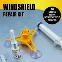 DIY Windscreen Repair Kit Windshield Cracks Auto Windows Glass New Tool U7M3