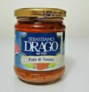 PATE DI TONNO 180G SICILIA patè di tonno