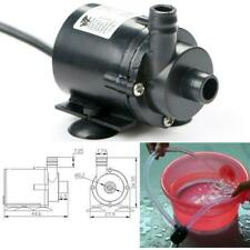 Quiet Mini DC12V 280L/H Micro Submersible Brushless Hot Heater Water Motor Pump