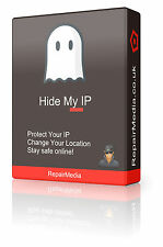 Hidemyip/changemyip Location Concealed Security Encrypted IP Hiding Software
