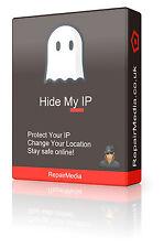 Hidemyip/changemyip ubicación oculta de seguridad cifrada Ip ocultar Software