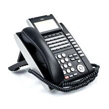 Nec Dt700 Series Model Ilv(Xd)Z-Y(Bk) VoIp Desktop Phone Itl-32D-1(Bk)Tel -No Ac
