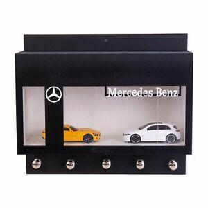 Mercedes Benz Dealership Wall Key Hook Rack - Exclusive Handcrafted Key Holder