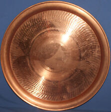 VINTAGE HAND MADE COPPER TRAY
