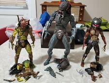 NECA Predator Lot of 3