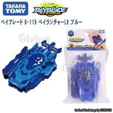 ORIGINAL TAKARA TOMY BEYBLADE Burst B-119 Bey Launcher Left Right Blue Toy