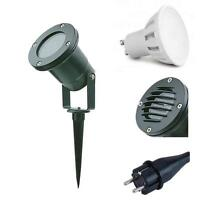 Gartenstrahler mit Erdspieß IP65 LED Licht Strahler Außenstrahler Spießstrahler