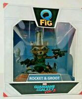 Loot Crate Guardians of the Galaxy Vol. 2  Rocket and Baby Groot QFig 2016, NIB