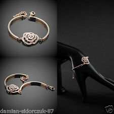 HQ A+ Kristall Gold Armreif Armband Swarovski Elements Etui Original Design 71