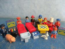 Viele Möbel Einrichtung Figuren 1 - 2 - 3 Playmobil 8415