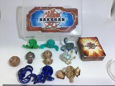 Bakugan Battle Brawlers and Collectible Trading Cards & 10 Bakugans Caring Case