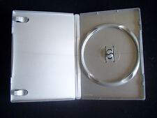 10 Amaray Hüllen Silber für 1 DVD,Blu Ray, CD Disc auch für PS 2 Ersatzhülle