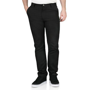 New Mens Chinos Lightweight Tailored Fit Skinny Designer Straight Trousers Pants