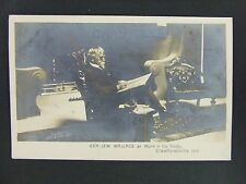 Crawfordsville Indiana Civil War Gen Lew Wallace Real Photo Postcard RPPC c1910