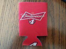 New Kevin Harvick 4 Budweiser Bud Nascar 12 Oz Can Coozie Koozie Stewart Haas