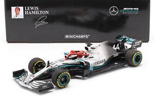 L. Hamilton Mercedes-AMG F1 W10 #44 Monaco GP Weltmeister F1 2019 1:18 Minicham