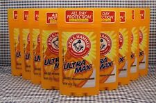 9 Arm & Hammer Ultra Max UNSCENTED Solid Antiperspirant Deodorant