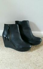 Topshop Zip Patternless Casual Boots for Women