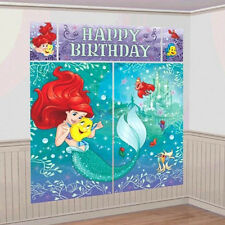 Disney Princess Ariel Dream Big Party Scene Setter Wall Decoration Backdrop Kit