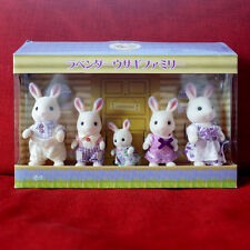 Sylvanian Families LAVENDER RABBIT FAMILY LIMITED Epoch Japan Calico Critters