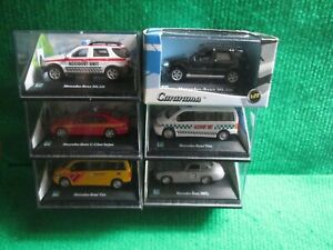 6 X CARARAMA MERCEDES-BENZ (1:72 SCALE) LOT G11