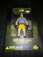 DC DIRECT-WATCHMEN MOVIE -CLASSIC NITE OWL -Series 2 Action  FIGURE *NEW* SEALED