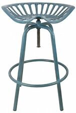 Chaises de jardin et de terrasse bleus en métal