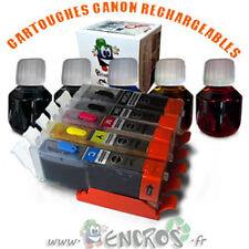 RECHARGEABLE-  Pack de 5 Cartouches Rechargeables HP 364 Garantie ENCROS