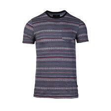 Men's Basic Striped Print Vacation Short Sleeve Pocket T-Shirt Tee S M L XL