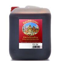 Glühwein Christkindles Bacchusfeuer 10 l Kanister 9,5% Vol.