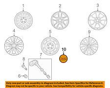 KIA OEM 11-13 Forte Wheels-Center Cap 529601F250