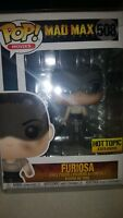 Funko Pop Movies #508 Furiosa Mad Max Fury Road Hot Topic Exclusive In Hand Now