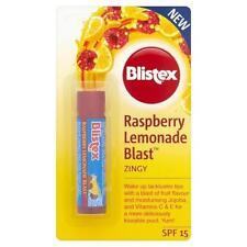 ** Blistex Frambuesa Limonada Blast Bálsamo para labios Juicy NUEVO ** los labios agrietados SPF 15