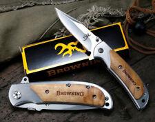 NEW Browning Tactical Folding Pocket Knife Survival Camping Hunting Knives BR6