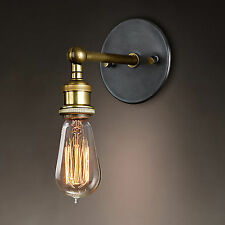 Vintage Industrial Retro Loft E27 Light Lamp Sconce Wall Lamp Light Fixture