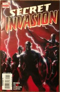 Secret Invasion #1 Cover A, Variant Blank Sketch Cover Comic and #7