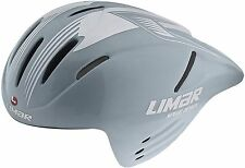 ROAD BIKE AERO HELMET LIMAR SPEED DEMON TIME TRIAL TT SILVER LARGE L 54/61 345gr