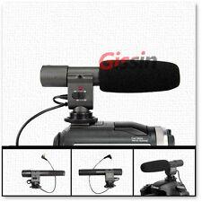 Stereo vídeo cámara Mic micrófono SG-108 para Canon 5D II 7D 60D 600D 550D 1D