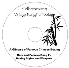 Dvd - A Glimpse at Famous Chinese Boxing