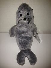 TY SLIPPERY THE SEAL BEANIE BABY 1999 RETIRED NEW STUFFED TOY!