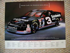 DALE EARNHARDT OFFICIAL CHEVY SHOWROOM NASCAR POSTER 1995