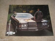 1971 Chevrolet Caprice Impala Bel Air sales brochure ORIGINAL dealer literature