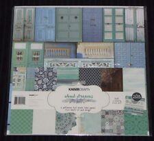 "Kaisercraft 'UBUD DREAMS' 12x12"" Paper Pk + Stickers Mandalas/Doilies KAISER"
