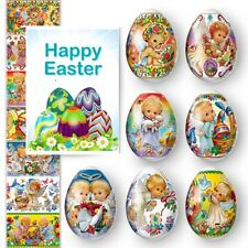 7 Easter Egg  Decoration Thermo Heat Shrink Sleeve Wraps Pysanka