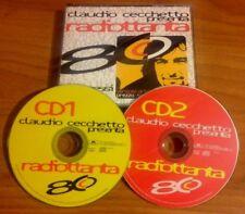 V.V.A.A. / CLAUDIO CECCHETTO presenta RADIOTTANTA - 2CD (Italy 1996) NEAR MINT
