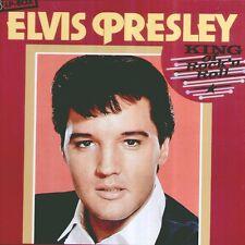 """ELVIS PRESLEY """" KING OF ROCK 'N ROLL"""" BOX 3 LP NUOVO"""